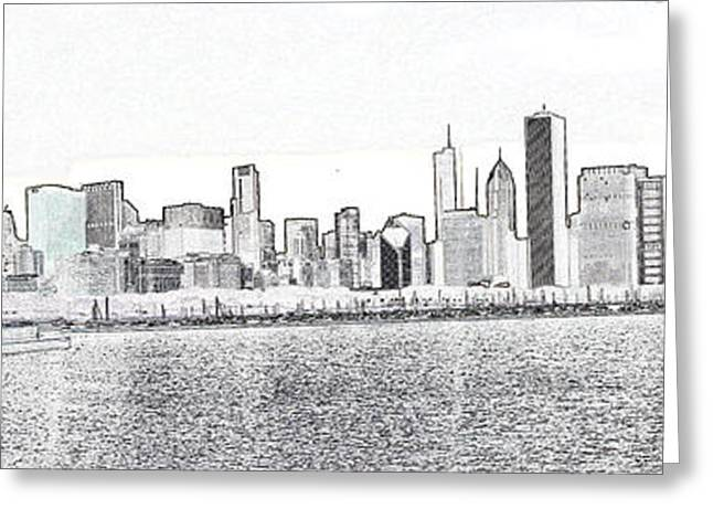 Cooler by the lake Greeting Card by David Bearden