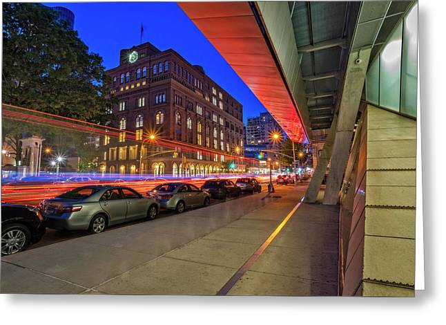 Greeting Card featuring the photograph Cooper Union Nyc by Susan Candelario