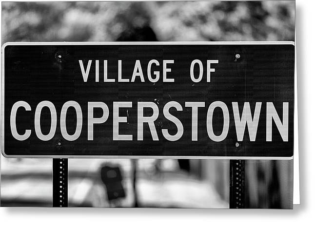 Cooperstown Greeting Card