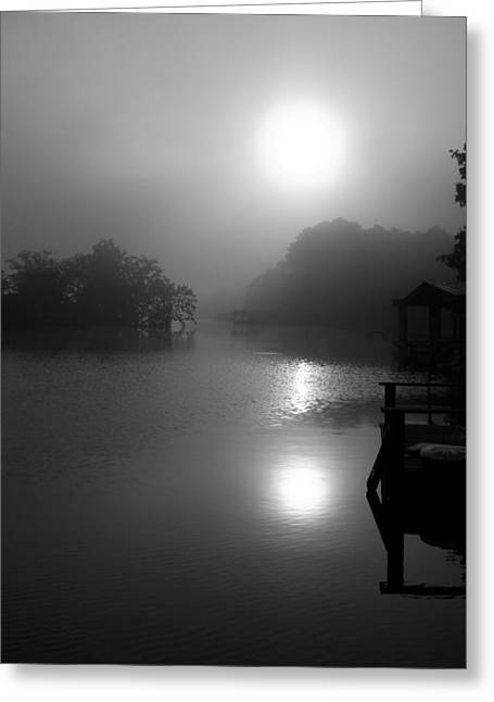 Coosa River Sunrise Greeting Card by Stacy Sikes