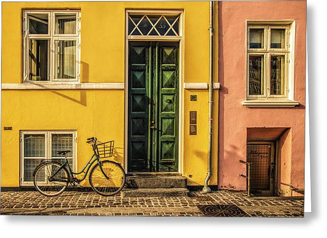 Copenhagen Transportation Greeting Card
