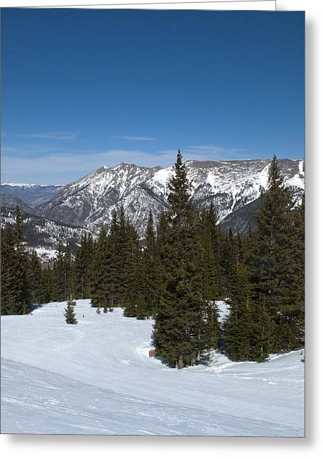 Expert Greeting Cards - Copper Mountain Resort - Colorado Greeting Card by Brendan Reals