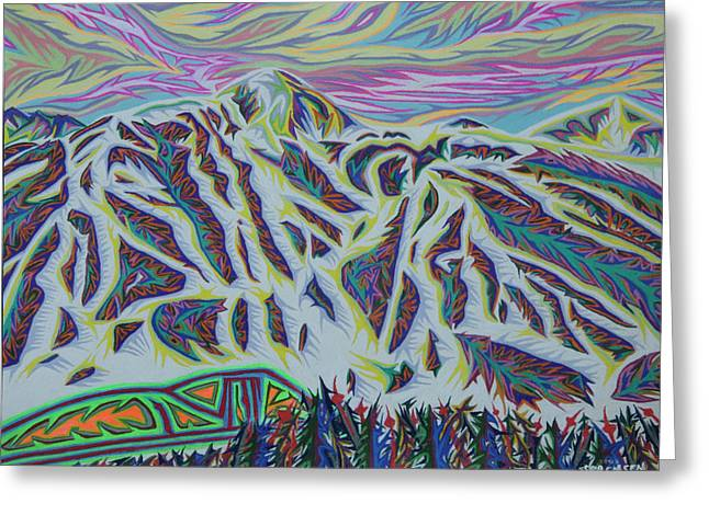 Copper Mountain Greeting Card by Robert SORENSEN