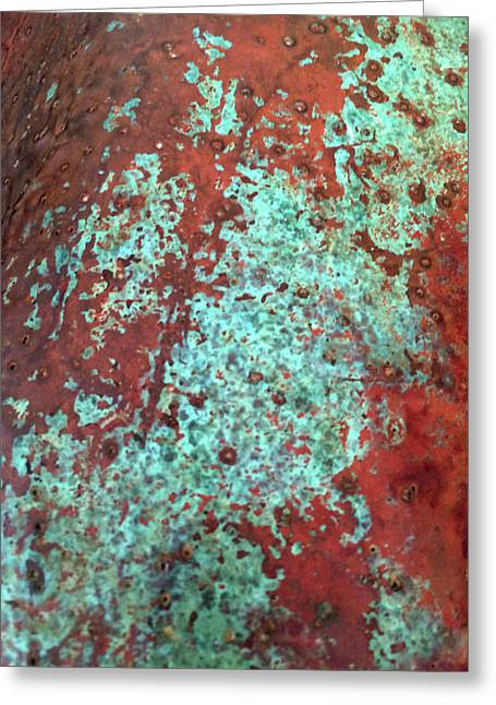 Copper Patina No. 22-1 Greeting Card