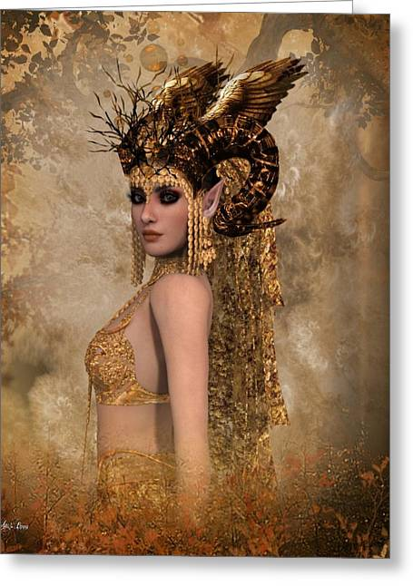 Copper Queen Greeting Card