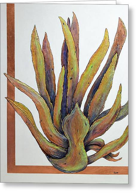 Copperstate Agave Greeting Card