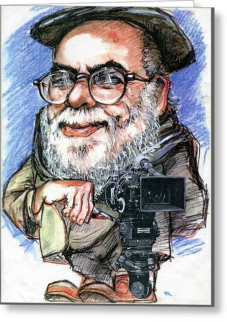 Francis Ford Coppola Greeting Card
