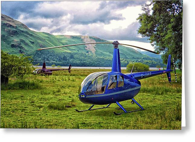 Copter Greeting Card