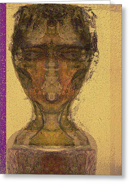 Coptic 3 Greeting Card by Noredin Morgan