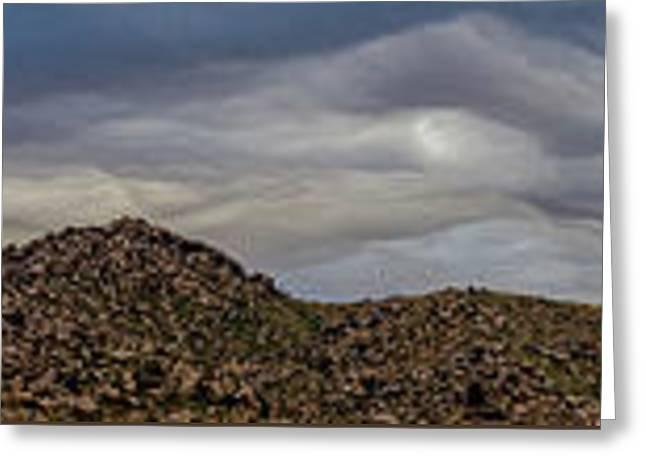 Copycat Clouds Greeting Card