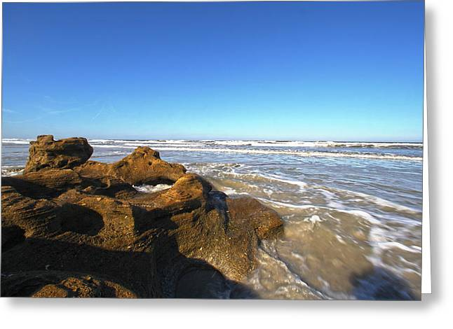 Coquina Beach Greeting Card by Robert Och