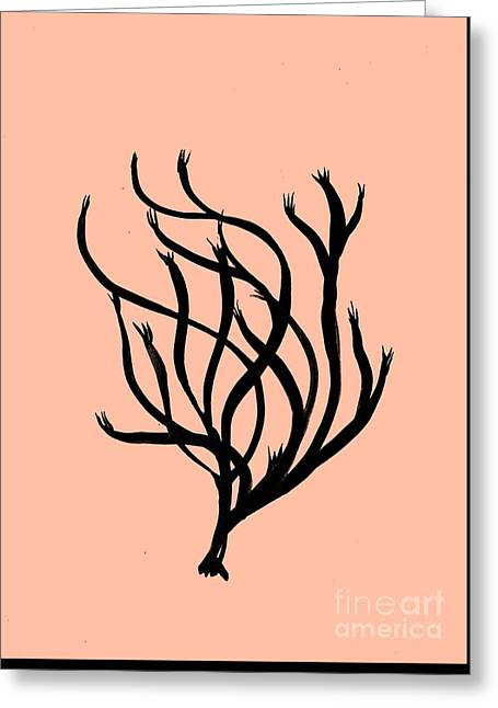 Coral Art- 2 Greeting Card