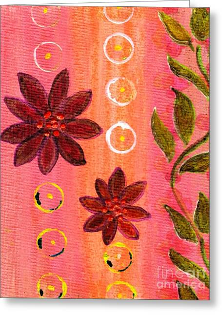 Coral Garden Greeting Card by Desiree Paquette
