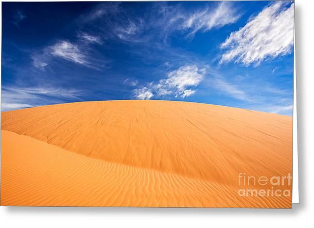 Coral Pink Sand Dunes State Park, Kanab, Utah Greeting Card