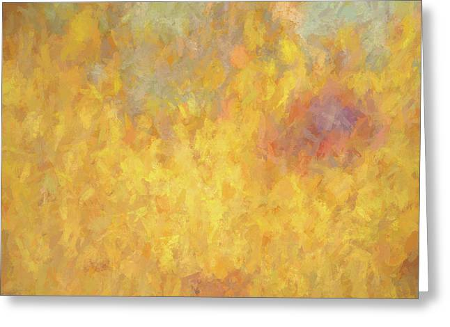 Corazon En Fuego Greeting Card by David King