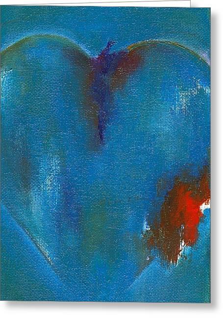 corazones de un Bobo Three Greeting Card by Ricky Sencion