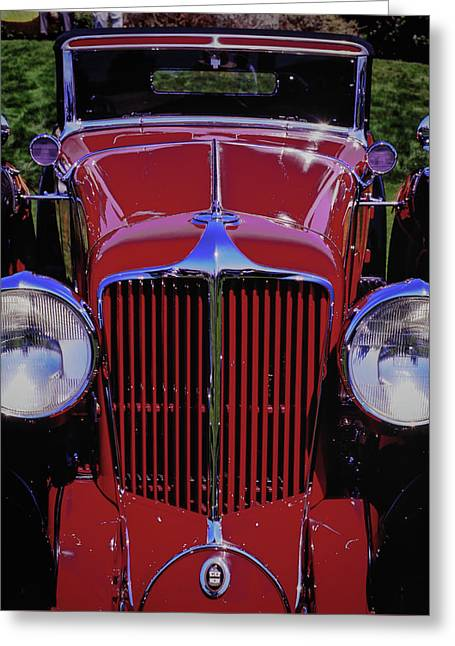 Cord Coupe Greeting Card