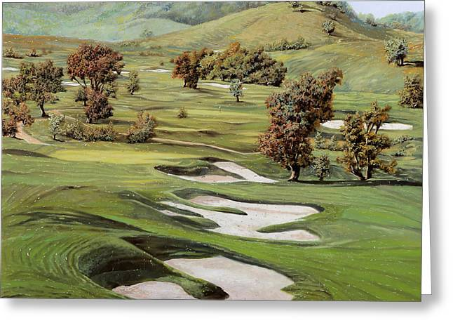 Cordevalle Golf Course Greeting Card