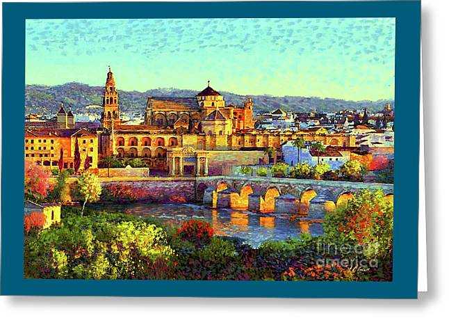 Cordoba Mosque Cathedral Mezquita Greeting Card