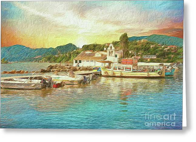 Corfu 30 My Passion Paintography Greeting Card