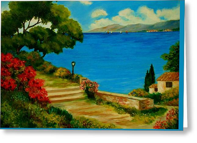 Corfu-greece Greeting Card