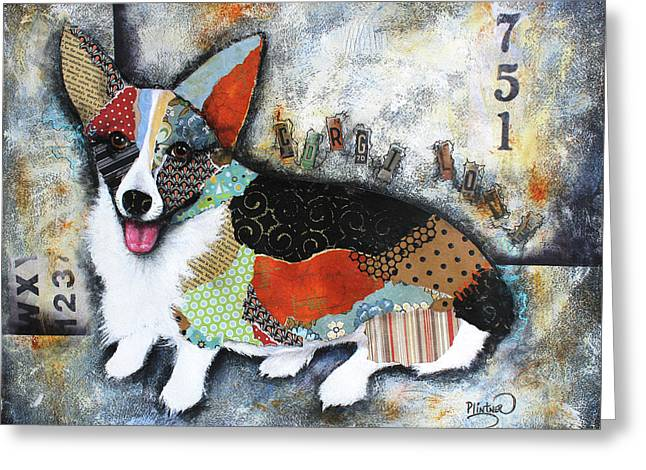 Corgi 2 Greeting Card