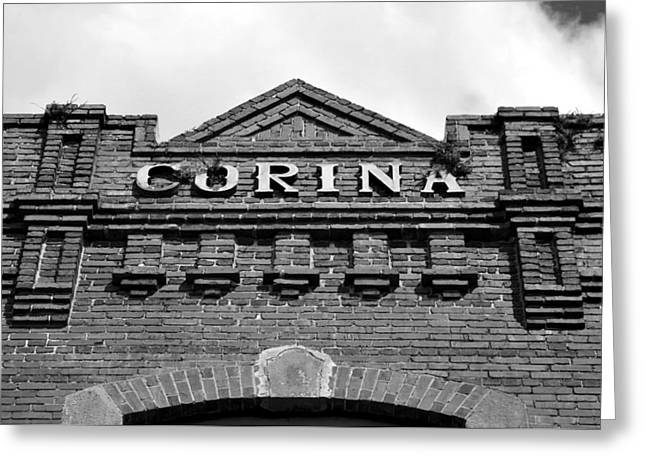 Corina Cigar Factory Tampa Florida Greeting Card