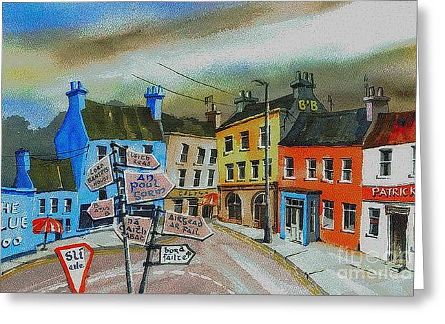 Cork... Glengarriff Signposts Greeting Card