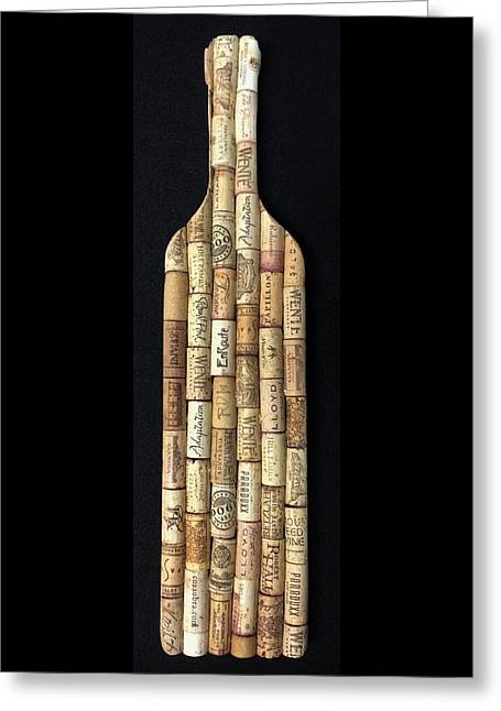 Corked Greeting Card by Michael Bergman