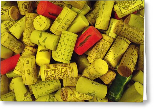 Corks I Greeting Card