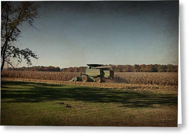 Corn Harvest 2015 Greeting Card