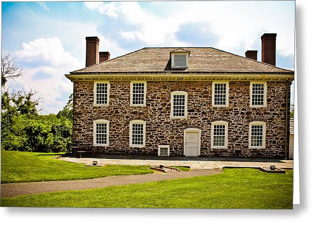 Cornelius Low House Greeting Card by Colleen Kammerer