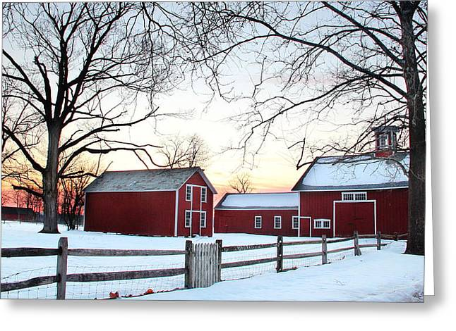 Corner Farm Greeting Card