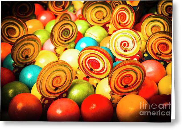 Corner Store Candies  Greeting Card
