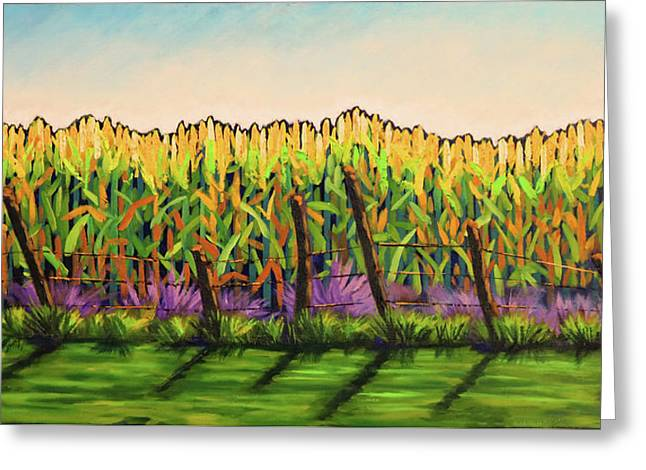 Cornfield Color Greeting Card