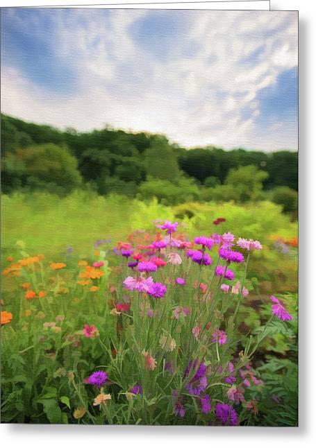 Cornflower Mood Greeting Card