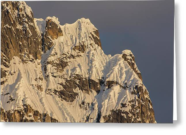 Cornices On The Rooster Comb Greeting Card