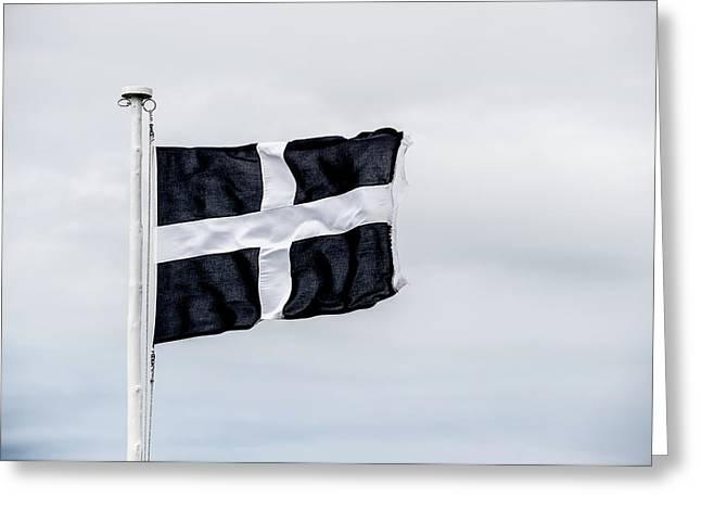 Cornish Flag Greeting Card