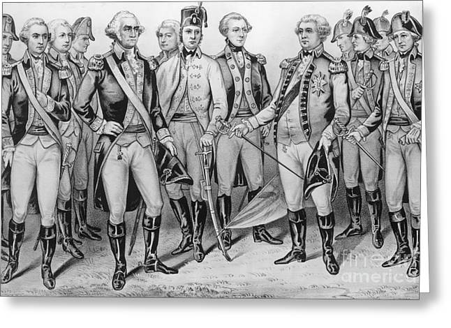 Cornwallis Surrenders At Yorktown Greeting Card