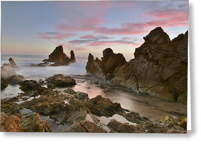 Greeting Card featuring the photograph Corona Del Mar by Dung Ma