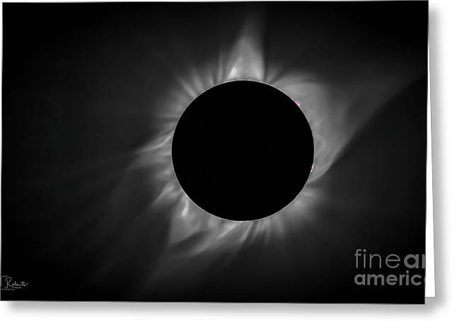 Corona During Total Solar Eclipse Greeting Card