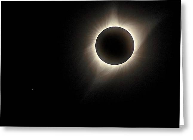 Greeting Card featuring the photograph Corona by Rikk Flohr