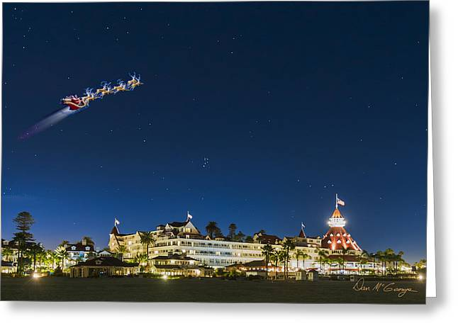 Coronado Christmas Greeting Card