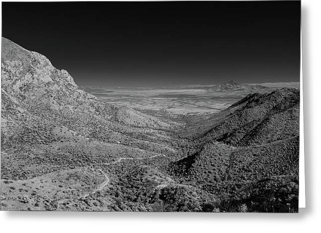Coronado National Memorial In Infrared Greeting Card