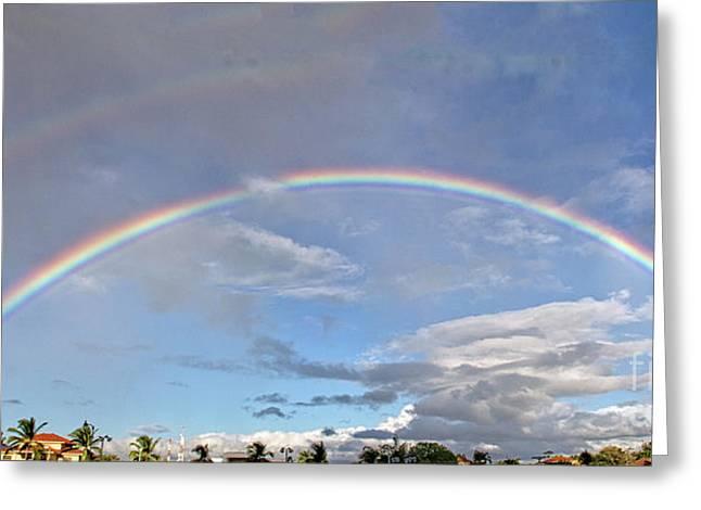 Coronado Rainbows Greeting Card