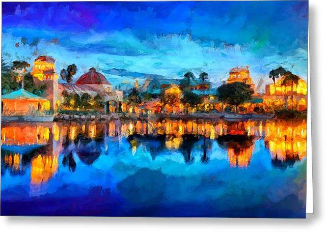 Coronado Springs Resort Greeting Card