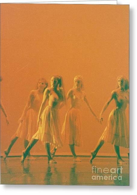 Corps De Ballet Greeting Card