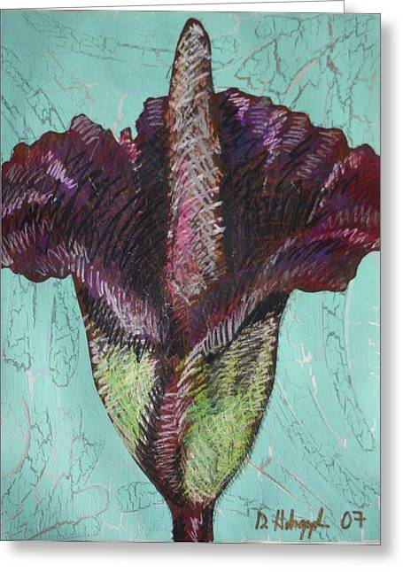 Corpse Flower Greeting Card by Dodd Holsapple