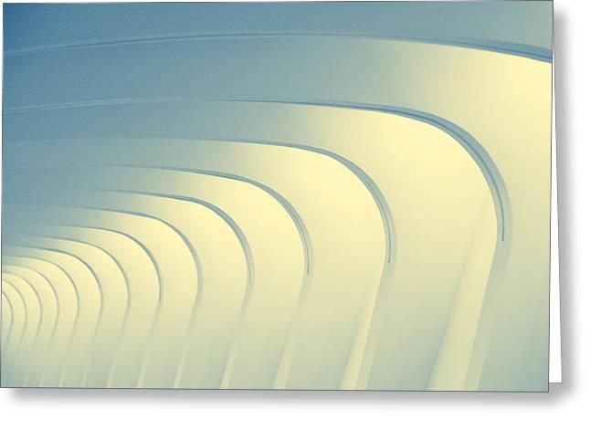 Corridoio D'incurvatura Greeting Card