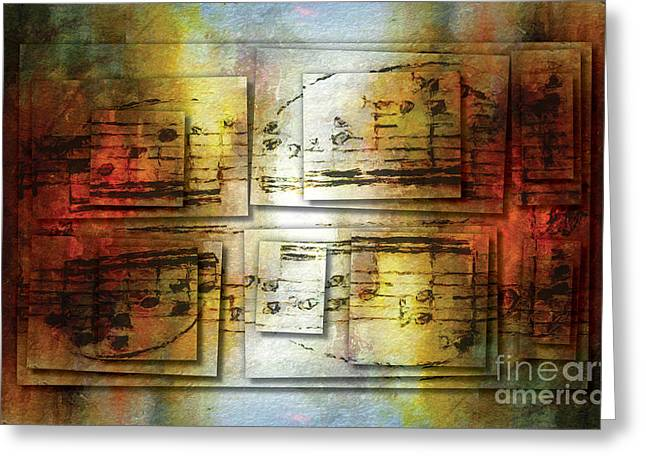 Corroded Cadence 2 Greeting Card